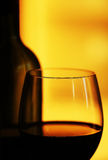 红葡萄酒构成 库存照片
