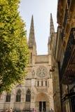 红葡萄酒的圣安德鲁大教堂 免版税库存照片