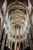 红葡萄酒的圣安德鲁大教堂 免版税库存图片