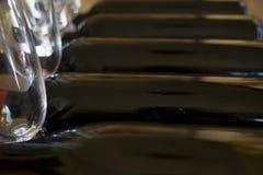 红葡萄酒的Degustation 库存照片