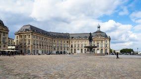 红葡萄酒, GIRONDE/FRANCE - 9月19日:大厦的看法 库存图片