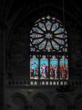 红葡萄酒, GIRONDE/FRANCE - 9月19日:污迹玻璃窗我 库存照片