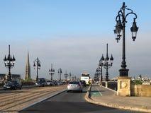 红葡萄酒, GIRONDE/FRANCE - 9月19日:通过在t的交通 免版税图库摄影