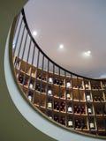 红葡萄酒, GIRONDE/FRANCE - 9月19日:L'Int内部看法  免版税库存图片