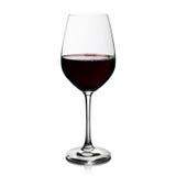 红葡萄酒玻璃 库存图片