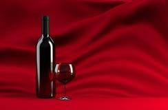红葡萄酒 库存照片