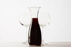 红葡萄酒 图库摄影