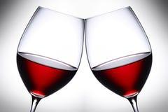 红葡萄酒3 免版税库存照片