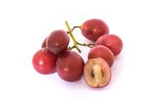 红葡萄 免版税库存照片