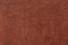 红褐色的毛巾织品纹理 库存照片
