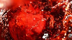 红酒旋转细节  图库摄影