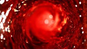 红酒旋转细节  库存图片