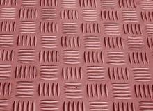 红颜色金属与迷离作用的地板样式 免版税库存图片