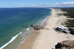 红头发人海滩-新堡澳大利亚 免版税图库摄影