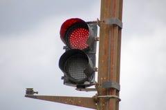红绿灯信号 库存照片