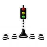 红绿灯, 3D 库存照片