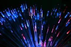 纤维光学玩具 免版税图库摄影
