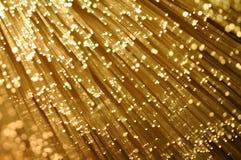 纤维光学 免版税库存图片