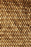 纤维手工造自然纹理植物织法 库存图片