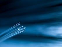 纤维光学螺纹 免版税图库摄影