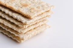 纤维饼干 免版税库存照片