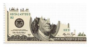 约会落的美元 库存图片