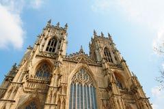 约克大教堂在约克夏,英国 库存照片
