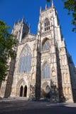 约克大教堂,北约克郡,英国 免版税库存图片