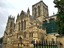 约克大教堂,英国 库存图片