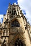 约克大教堂,英国 库存照片