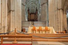 约克大教堂,英国 免版税库存图片