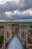 约克大教堂,英国 免版税图库摄影