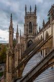 约克大教堂,英国 免版税库存照片
