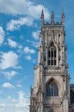 约克大教堂,英国 图库摄影