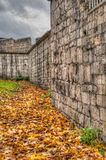 约克市墙壁 库存照片