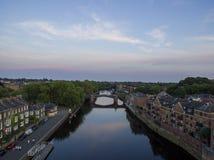 约克河沿天线 库存图片