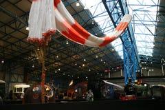 约克,英国- 02/08/2018 :蒂姆Peake ` s联盟号航天器 免版税库存图片