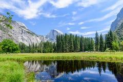 约塞米蒂国家公园反映 图库摄影