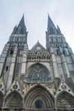 巴约大教堂 免版税库存图片