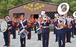 约旦军事乐队 免版税图库摄影