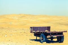 约旦沙漠 免版税库存照片
