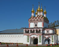 约瑟夫修道院俄国volokolamsk 免版税库存照片