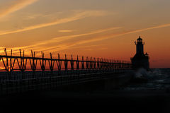 约瑟夫点燃北部码头st 免版税库存照片