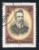 约瑟夫Loschmidt 免版税库存照片