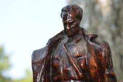 约瑟普・布罗兹・铁托雕象 免版税库存照片