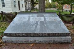 约瑟・斯密小墓石  Hyrum史密斯和埃玛史密斯 库存照片