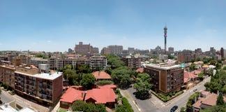 约翰内斯堡全景-豪登省,南非 库存照片