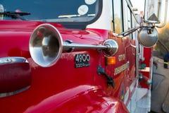 约翰内斯堡消防车城市 库存图片