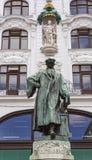 约翰内斯・谷登堡纪念碑 免版税库存照片