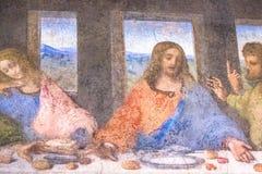 约翰和耶稣 库存图片